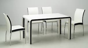 chaise noir et blanc beautiful table chaise blanche contemporary amazing house