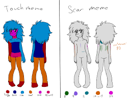 Scar Meme - touch and scar meme by bllthe on deviantart