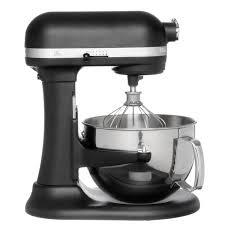 kitchenaid mixer black kitchenaid rkp26m1xbk imperial black 6 quart pro 600 series stand
