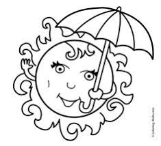 summer beach coloring pages kids free printable coloring