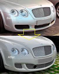 chrome bentley fast ems set chrome headlight trims for bentley continental saloon