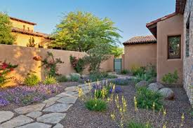 Landscape Rock Phoenix by Silverleaf Colorful Xeriscape Southwestern Landscape Phoenix
