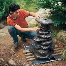 best 25 rock fountain ideas on pinterest outdoor water features