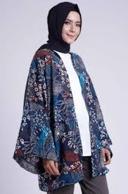 gambar model baju batik modern 33 inspirasi model baju muslim batik kombinasi wanita modern branded