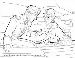 disney princess color page disney coloring pictures of anna from frozen princess coloring