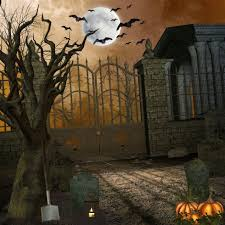 free digital background halloween only 25 00 photography background full moon night bat cemetery