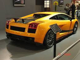 Lamborghini Gallardo Back - lamborghini gallardo superleggera pure sound lamborghini gallardo