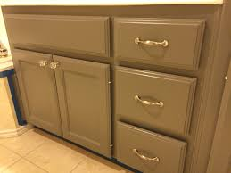 Painted Bathroom Furniture by Refurbished Bathroom Cabinets Painted With Ralph Lauren Brimfield