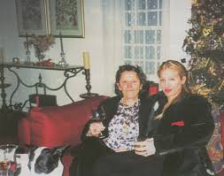 carolyn bessette kennedy at her mother u0027s home for christmas in