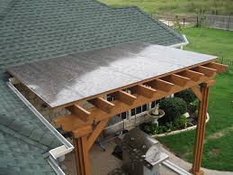 polygal cover on fort worth pergola patio deck ideas pinterest