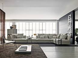 grand canap d angle en tissu très grand canapé d angle en tissu gris clair favorite interior