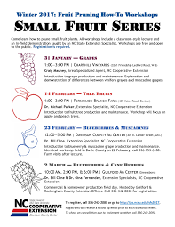 small fruit series 2017 north carolina cooperative extension