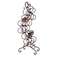 Wall Mounted Bakers Rack Organizer Wrought Iron Wine Racks Tabletop Wine Rack Wrought