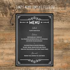 sle menu design templates wedding menu chalkboard search chalkboard ideas