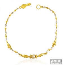 22k chain bracelet ajbr58504 designer 22k bracelet in