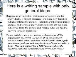how to write your best toefl essay