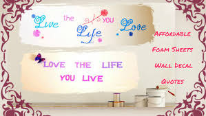 the sweethome sheets foam sheets wall decal quotes an affordable way to decorate your