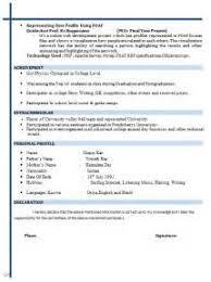 Resume Model For Job by Resume Model For Job Resume Builder Iphone App