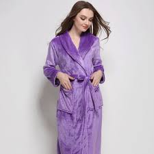 Full Length Bathrobe Compare Prices On Mens Flannel Nightgowns Online Shopping Buy Low
