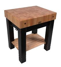 kitchen island instead of table john boos butlers block traditional butcher block