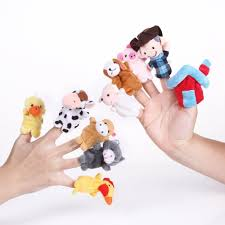 old macdonald farm animals finger puppets kids nursery rhyme