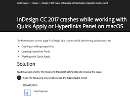 a fix for the dreaded quick apply crash in cc 2017