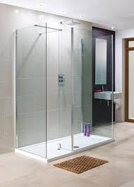 Lakes Shower Door Lakes 1600 X 800mm 3 Panel Walk In Shower Enclosure With Return Tray