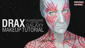 star lord costume spirit halloween drax guardians of the galaxy makeup tutorial wholesale halloween