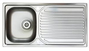 1 bowl kitchen sink astracast aegean 1 bowl inset kitchen sink right hand ei0950sx