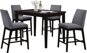 dining room sets bar height latitude run trotwood 5 piece bar height dining set u0026 reviews