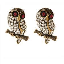 owl earrings sitting owl earring shop amrita singh jewelry