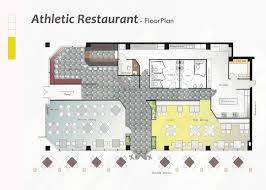 restuarant floor plan architectural floor plans building plan designer 3d rendering idolza