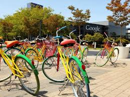 Google Dublin Office Here Are The Crazy Colorful Bikes Google Employees Ride Around