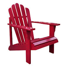 Lowes Lounge Chairs by Shop Shine Company Westport Chili Pepper Cedar Adirondack Chair At