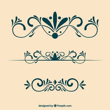 ornamental decoration free vectors ui