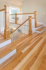 Hardwood Floor Stairs Birch Wide Plank Flooring Mill Direct