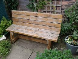 diy garden bench plans home design ideas