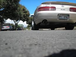 lexus sc300 gold show your rear