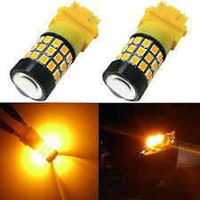 white light bulbs not yellow partsam 2x 3157 t25 3156 3056 3057 white cree led canbus backup