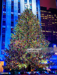 rockefeller center christmas tree stock photos and pictures