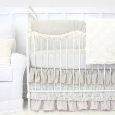 White Nursery Bedding Sets Vintage Crib Bedding Caden
