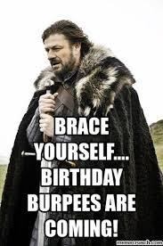 Burpees Meme - burpees