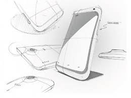 htc shows early design sketches for the htc one x htc news