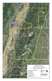 Jackson Hole Map Ranch 10 Of The Bar B Bar Land Parcel In Jackson Hole Wyoming