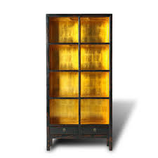 gold leaf home decor furniture home dreaded black bookcase cabinet images ideas