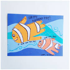 Kids Handprint Crafts Fish Handprint Father U0027s Day Craft Kix Cereal
