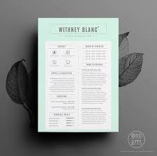 resume template cv template cover letter for word instant