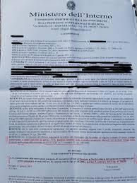 ufficio immigrazione bologna permesso di soggiorno avv fabio loscerbo provvedimenti della commissione territoriale