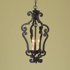Kitchen Lantern Lights by Black Iron Scroll Lantern Small Iron Kitchens And Lights