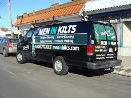 Men In Kilts Window Cleaning Vehicle Wraps Full U0026 Partial